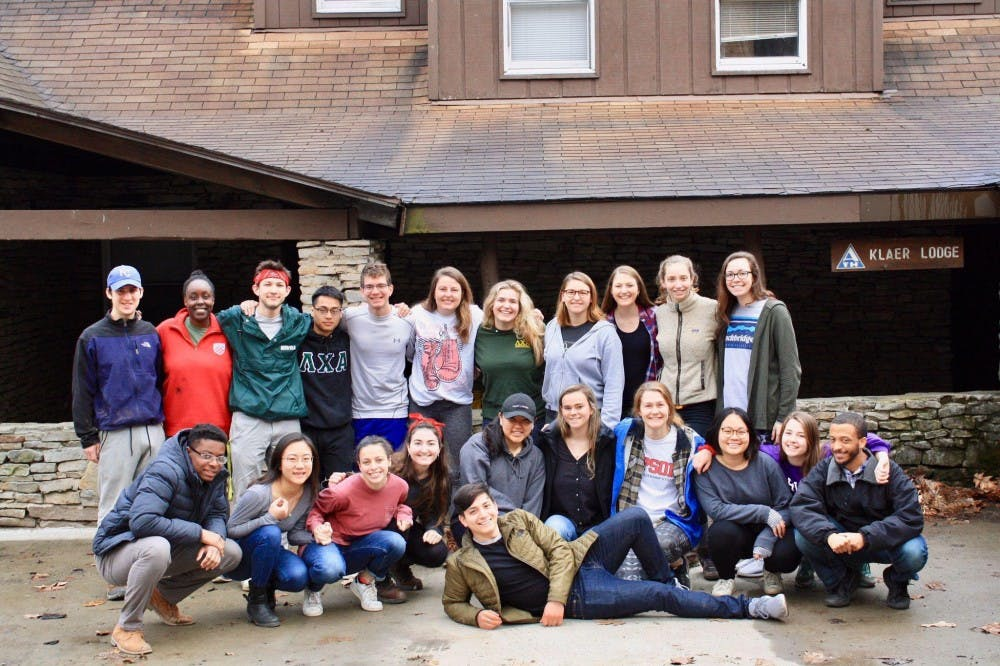 <p>Students on the West Virginia SEEDS trip pose for a group photo. <em>Image courtesy of Alejandro Villalpando</em></p>