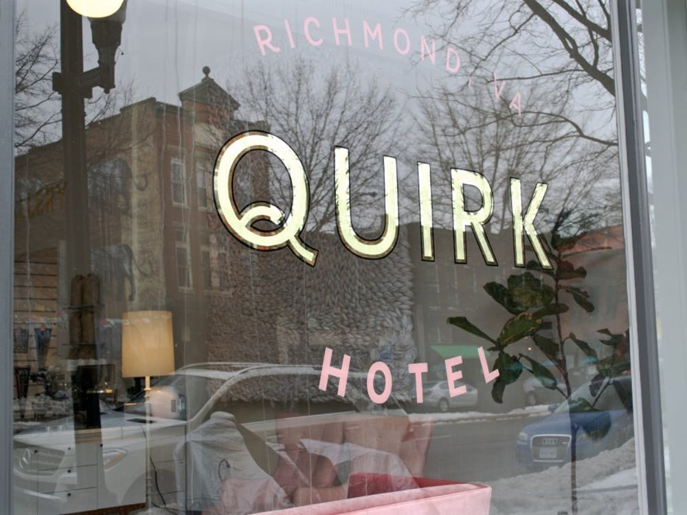 Quirk Hotel is located on West Broad Street in the heart of downtown Richmond.