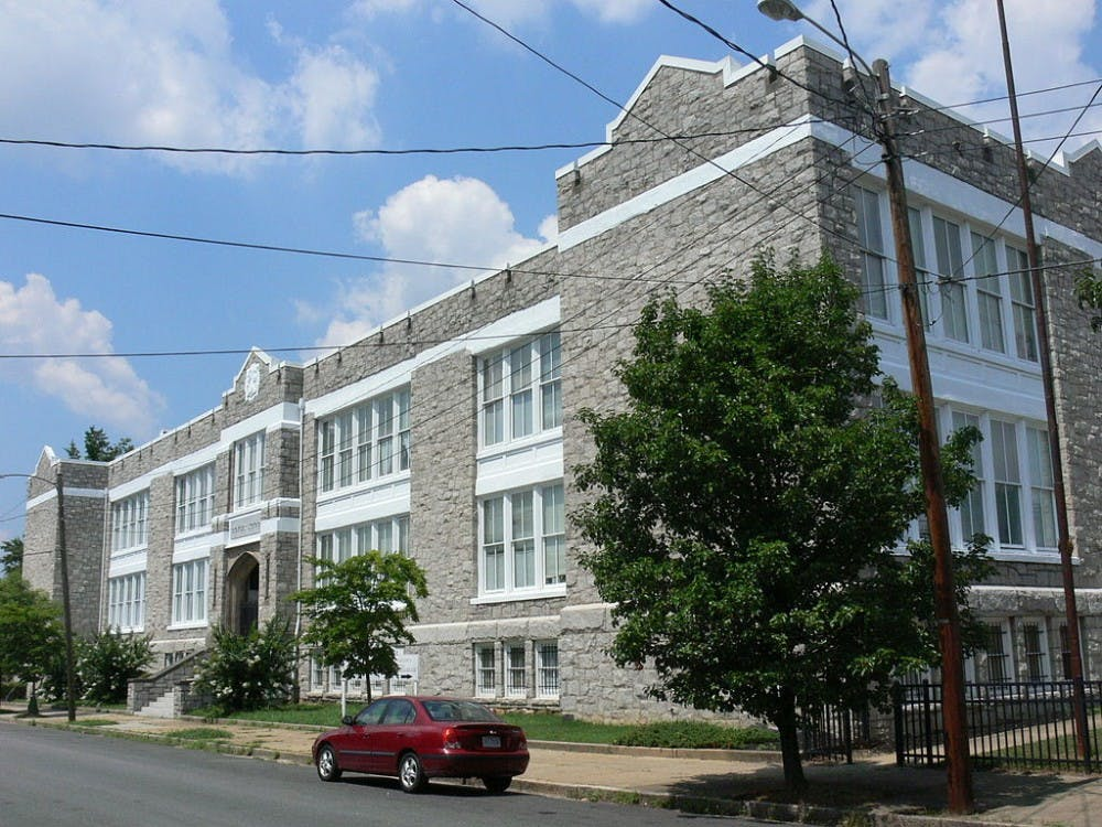 <p>The Springfield School in Richmond, Virginia. Courtesy of Morgan Riley/Creative Commons</p>