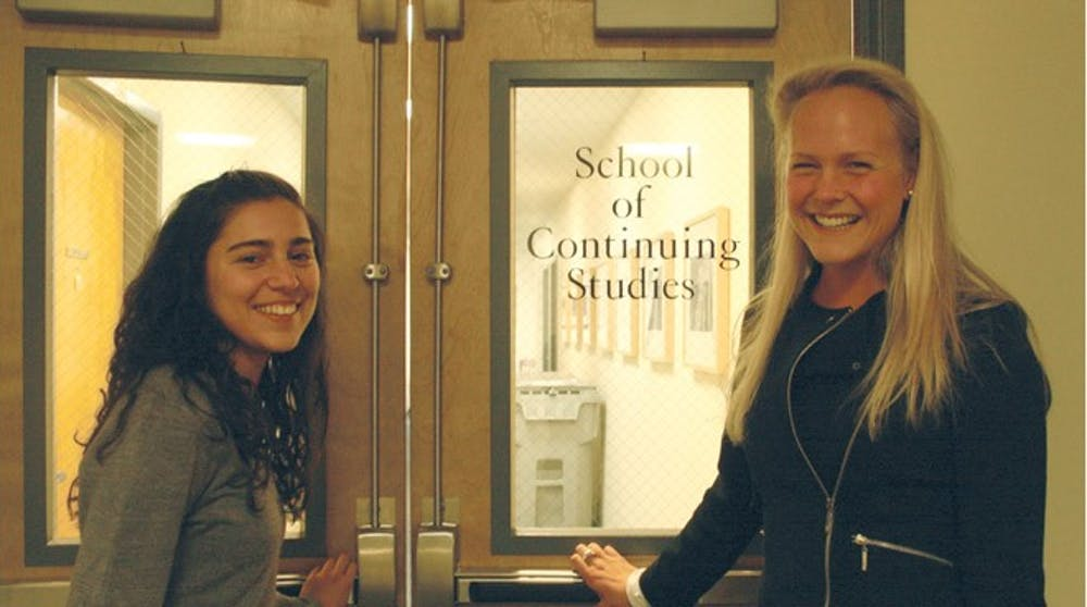 Asha Phadke and Elizabeth Hailand are the creators of the  SCS/Undergrad Connections program.