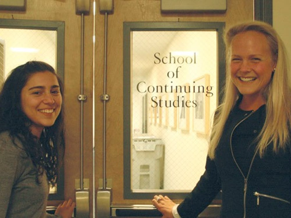 Asha Phadke and Elizabeth Hailand are the creators of the  SCS/Undergrad Connections program.
