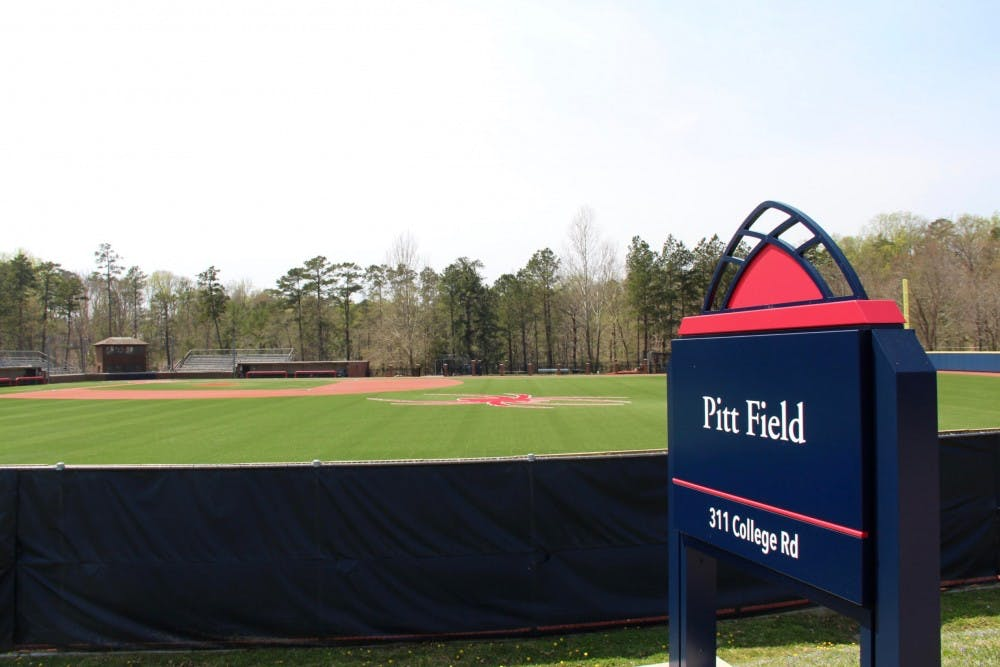 <p>Pitt Field, where UR's club baseball team defeated VCU on Friday.</p>