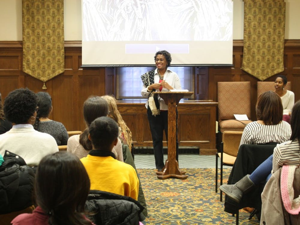 Marion Bethel discusses her documentary in the Brown Alley Room.