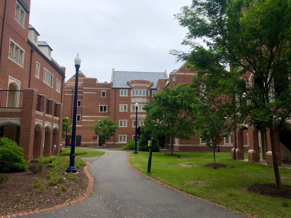 <p>The Gateway Apartments on the University of Richmond campus.</p>