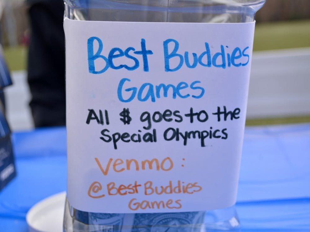 Donationswent to the Special Olympics.
