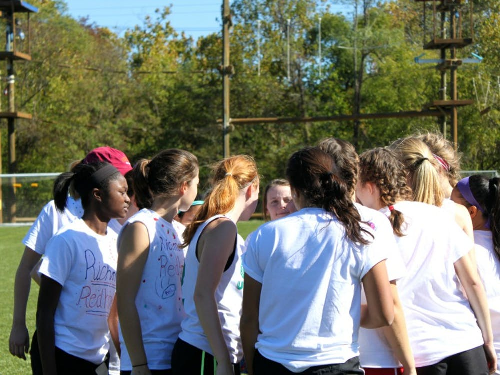 The Redhots Ultimate Frisbee team hosts their annual Monument tournament. Photos by Rayna Mohrmann.