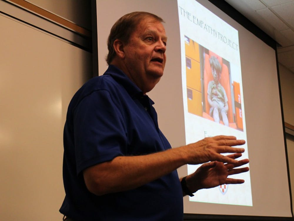 Professor Fred Talbott. Photo courtesy of Richmond BizSense.