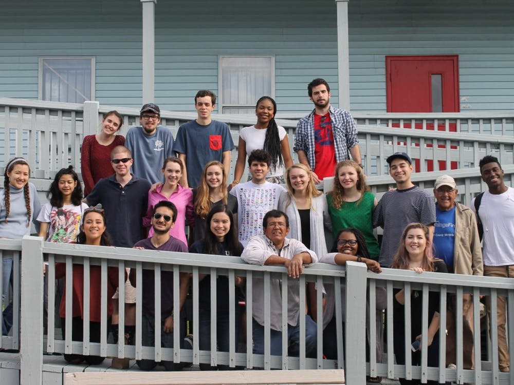 SEEDS students took a trip to Louisiana during spring break of 2016.
