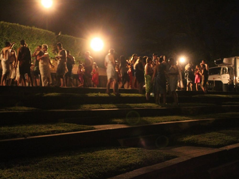 The Class of 2016 gathered in the Greek Theater to remember the past and celebrate the coming year.