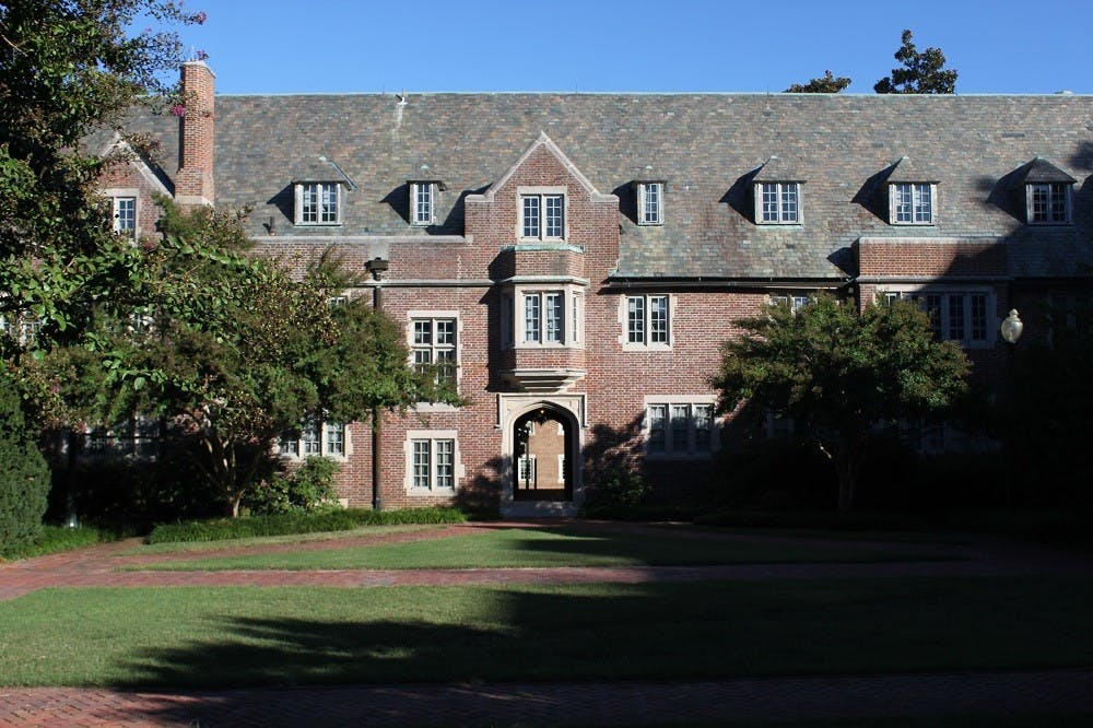 <p>North Court houses the University of Richmond education department.</p>