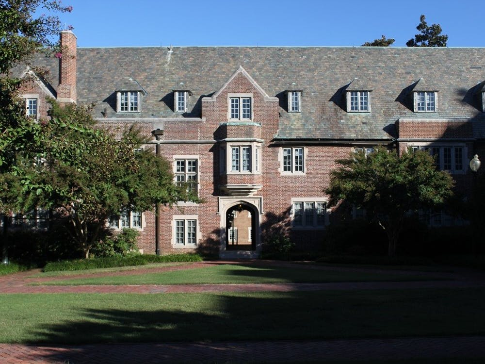 North Court houses the University of Richmond education department.