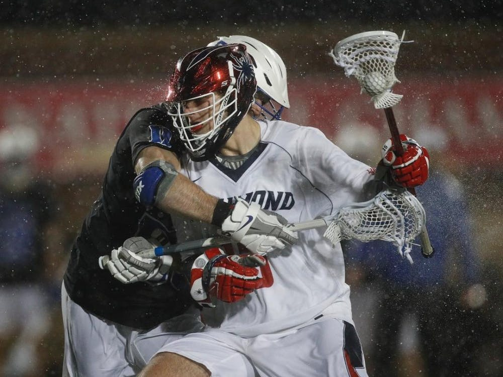 Photo courtesy of Spider Men's Lacrosse Instagram (@Spidermlax).