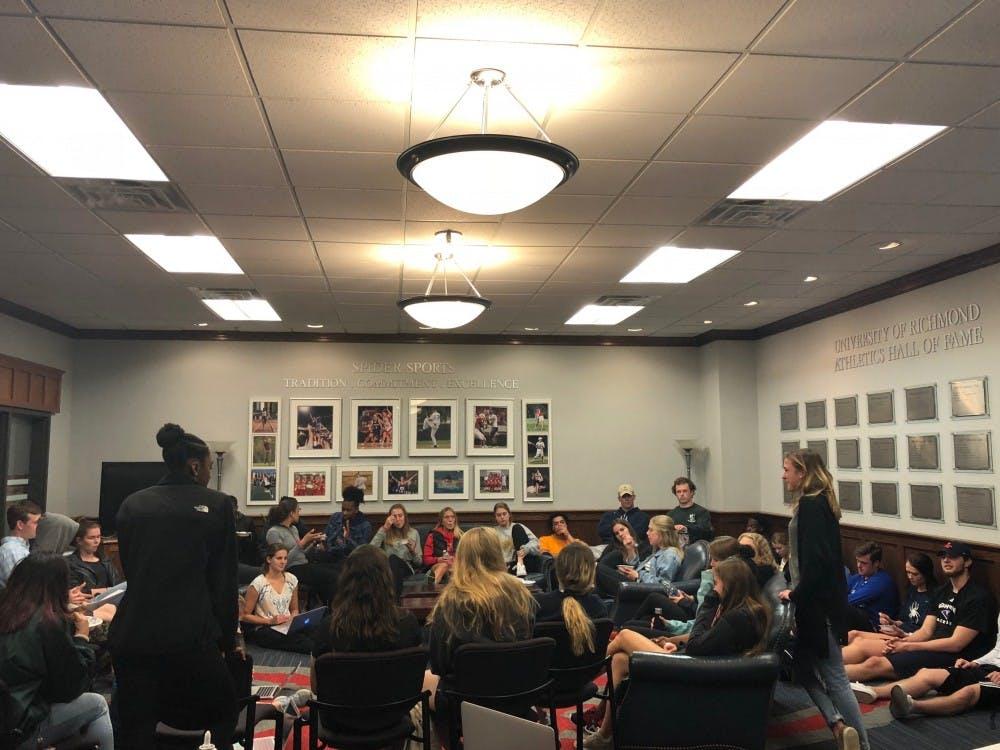 A recentSAAC meeting. Photo courtesy of SAAC.