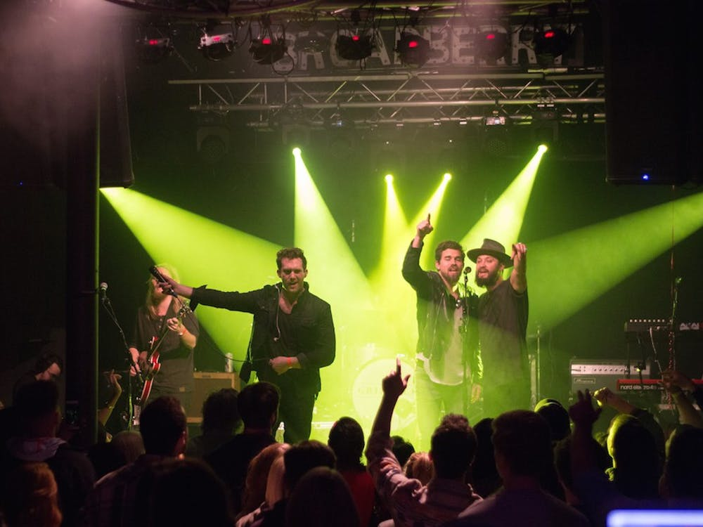 Grizfolk and Knox Hamilton hit The Broadberry on Valentine's Day | Courtesy ofSofia Nicolet from Melodic Magazine