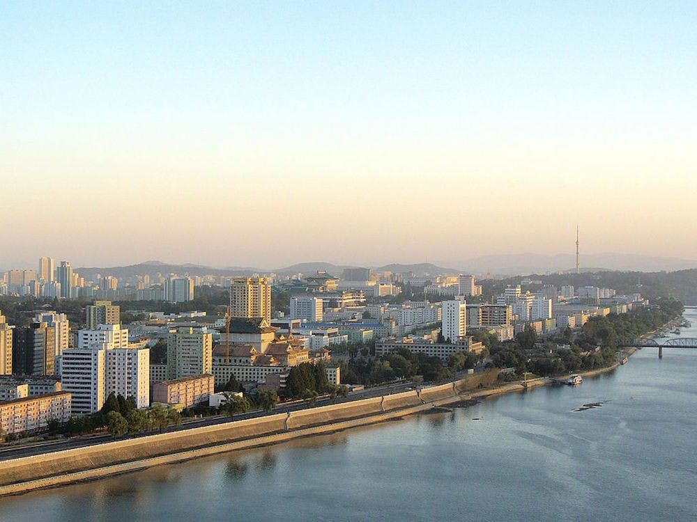 A shot of the skyline of Pyongyang, the capital of North Korea | Courtesy of Kok Leng Yeo/Wikicommons