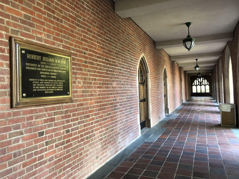 <p>Ryland Hall, named after controversial figure Robert Ryland, will undergo a year-long renovation in December.&nbsp;</p>