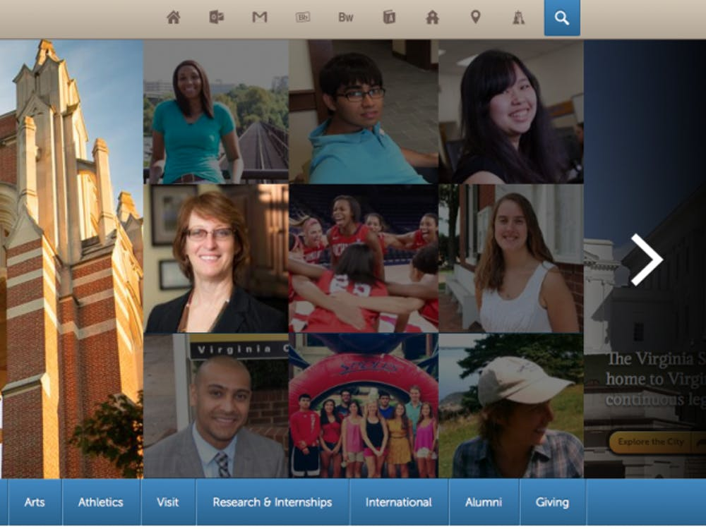 Richmond's redesigned website came as a shock tomany students and staff on campus.
