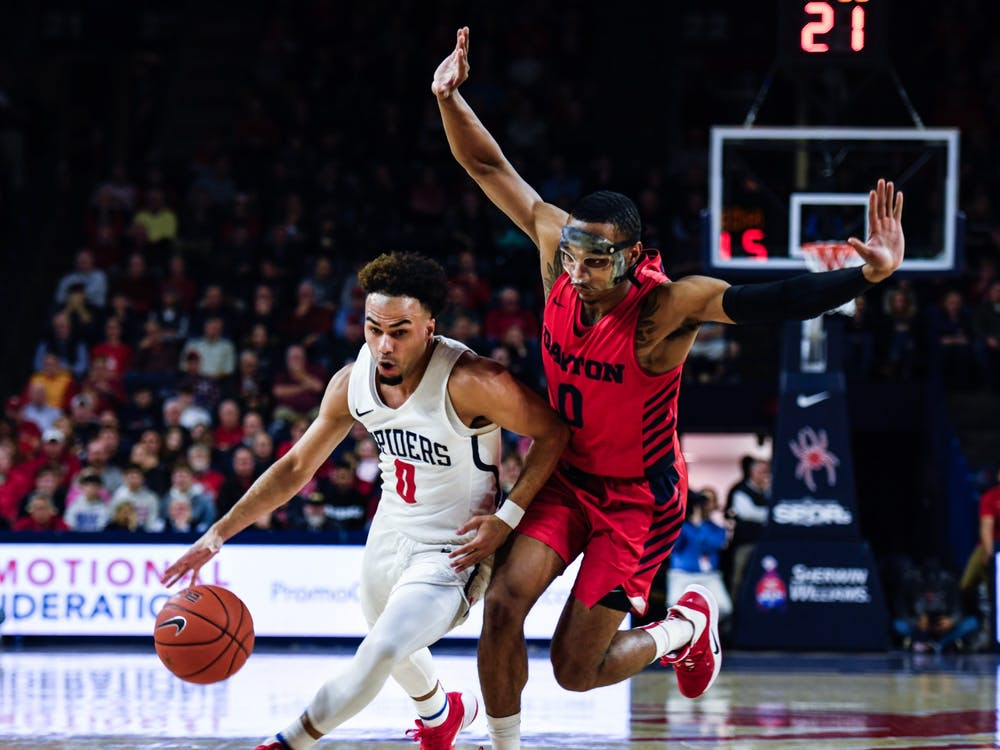 Up against the No. 7 Dayton Flyers, the Spiders fell 87-79.