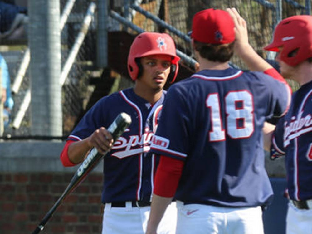 Richmond's baseball team lost two of three games in the series against Fordham.