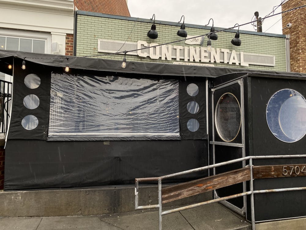 The Continental Westhampton is located on Grove Avenue.