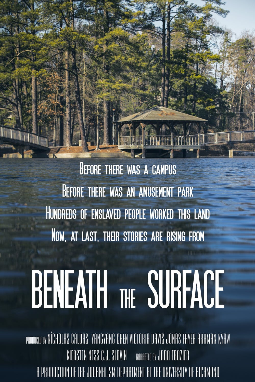 "<p>""Beneath the Surface"" film poster.&nbsp;</p>"