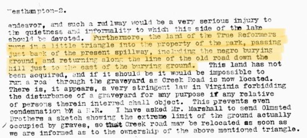 Hubbard Report Excerpt