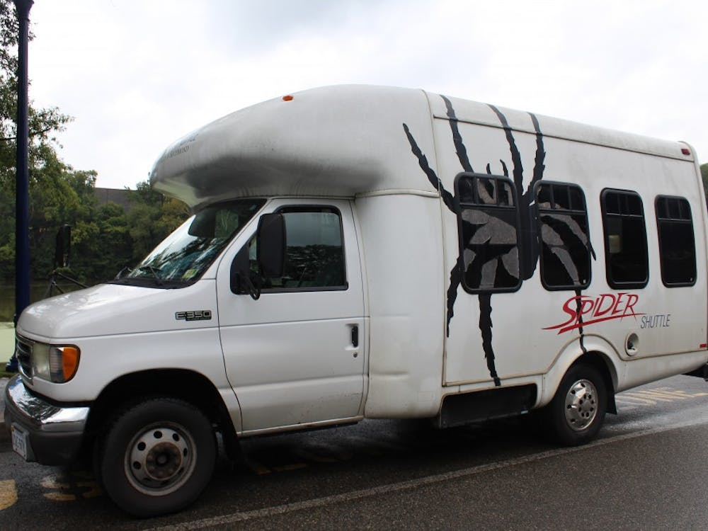 One of theshuttles managed by UR Transportation.