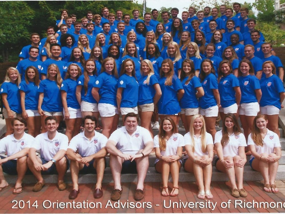 The 2014 Orientation Advisors. Courtesy of Ryan Foster.