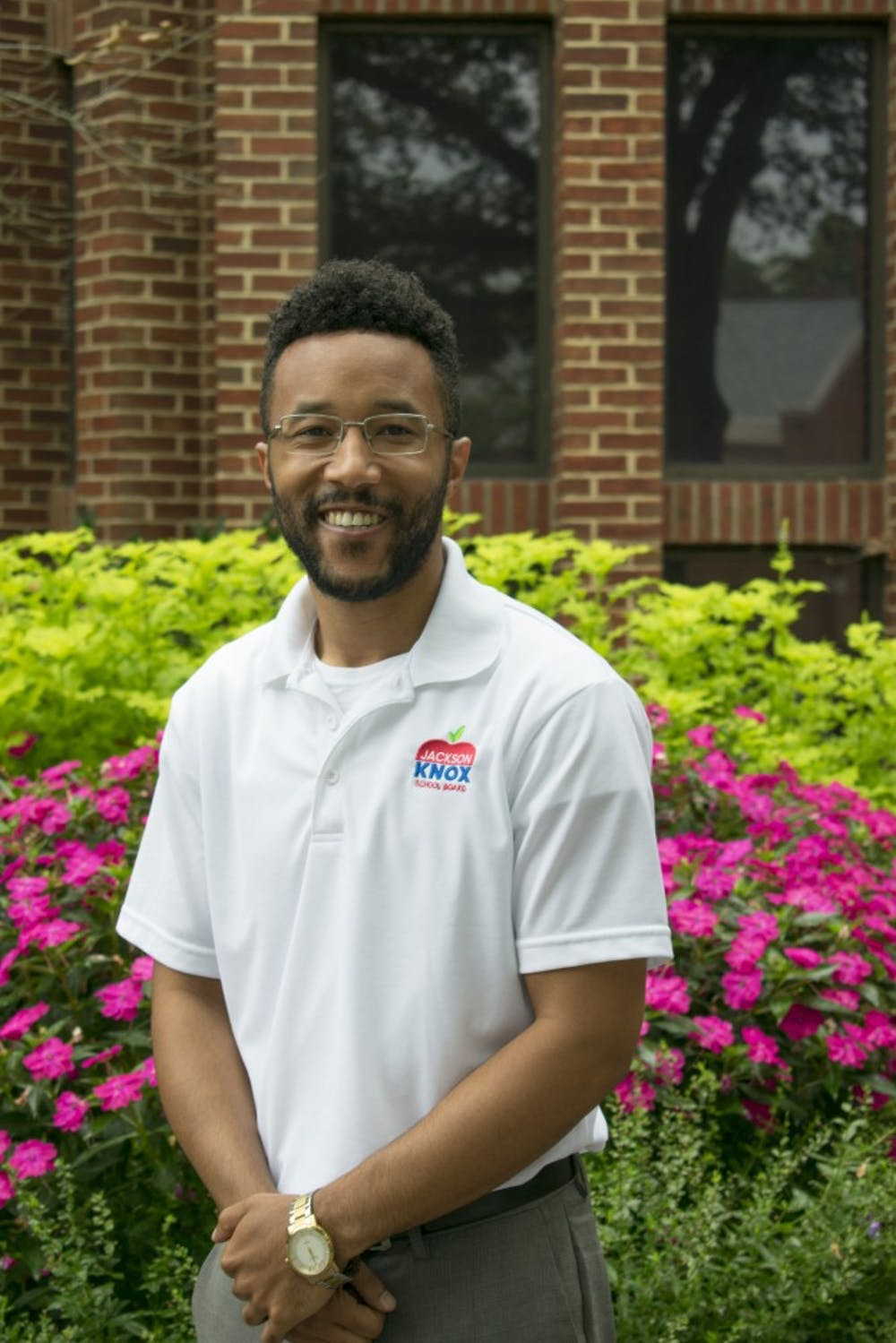 <p>Jackson Knox, 28, serves as the outreach coordinator at the SpiderShop. He is also running for a seat on the Henrico County School Board.&nbsp;</p>