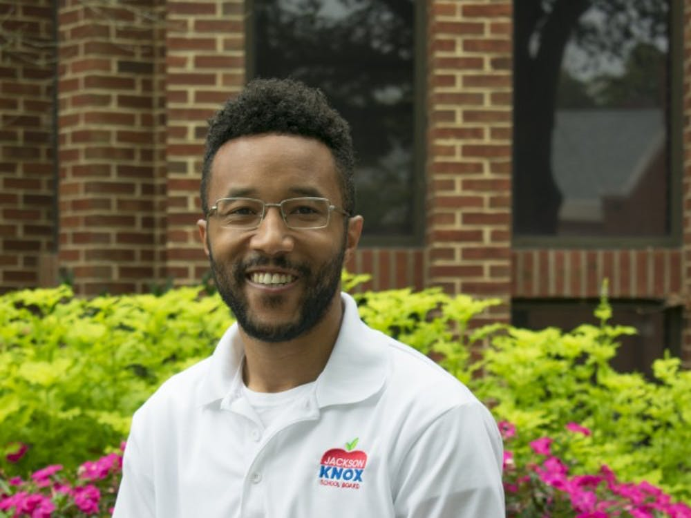 Jackson Knox, 28, serves as the outreach coordinator at the SpiderShop. He is also running for a seat on the Henrico County School Board.