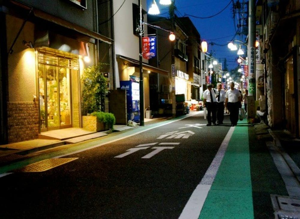 <p>Tokyo Side Streets.</p>