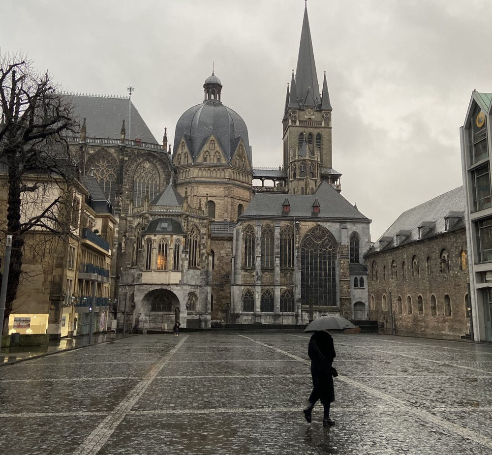 <p>Aachen Cathedral, a UNESCO World Heritage Site in Aachen, Germany. <em>Courtesy of Riley Place</em></p>