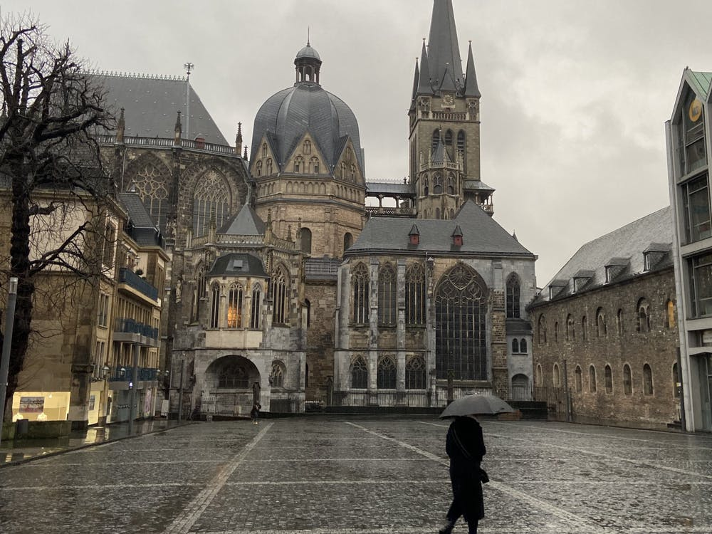 Aachen Cathedral, a UNESCO World Heritage Site in Aachen, Germany. Courtesy of Riley Place