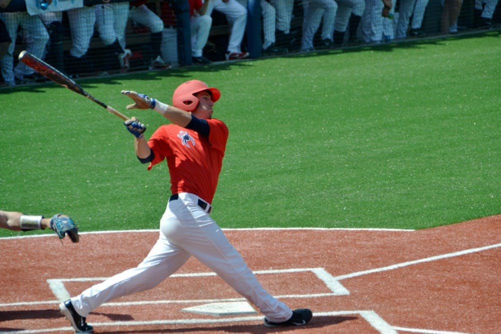 <p>Second baseman Daniel Brumbaugh went 2-for-3 during Sunday's game with a double, a single and a stolen base.</p>
