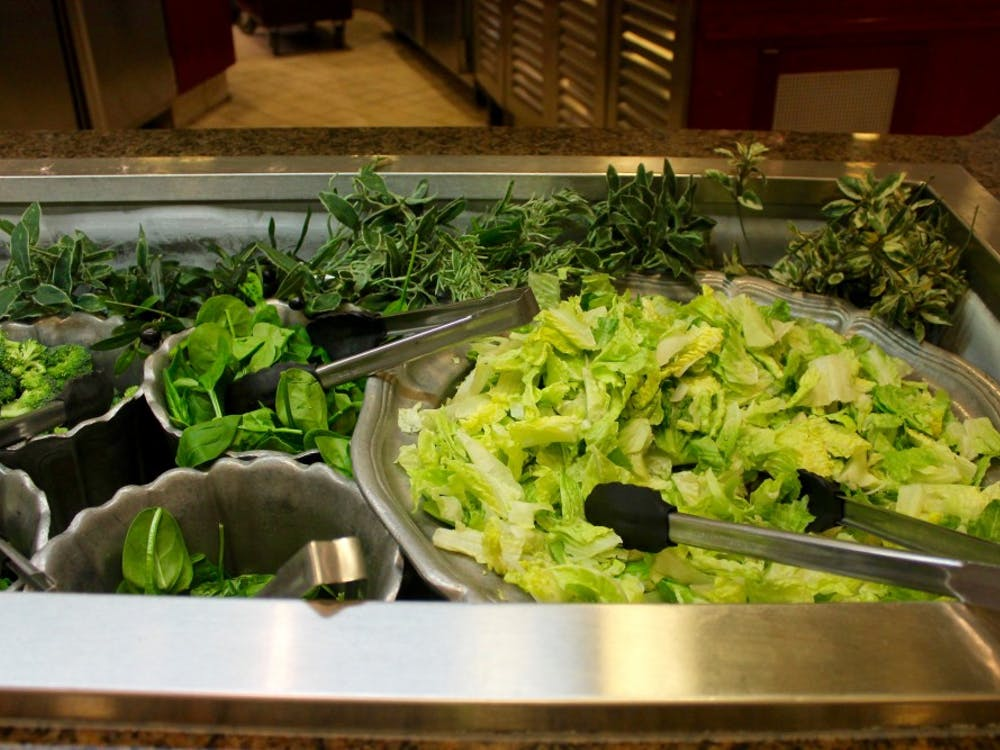 The dining hall has the leafy greens you need to fight sickness.