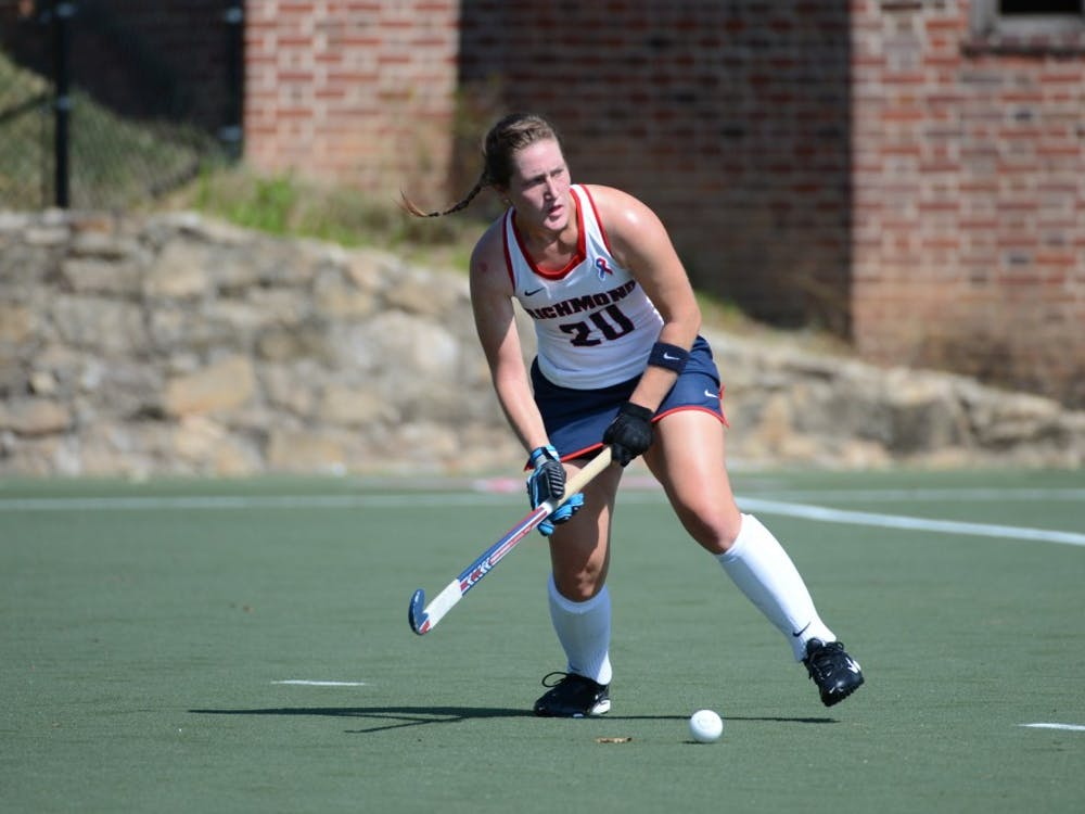 Senior defender Allison Haas will lead the Spiders against Massachusetts inthe A-10 championship game on Saturday. Photo courtesy of Richmond Athletics.