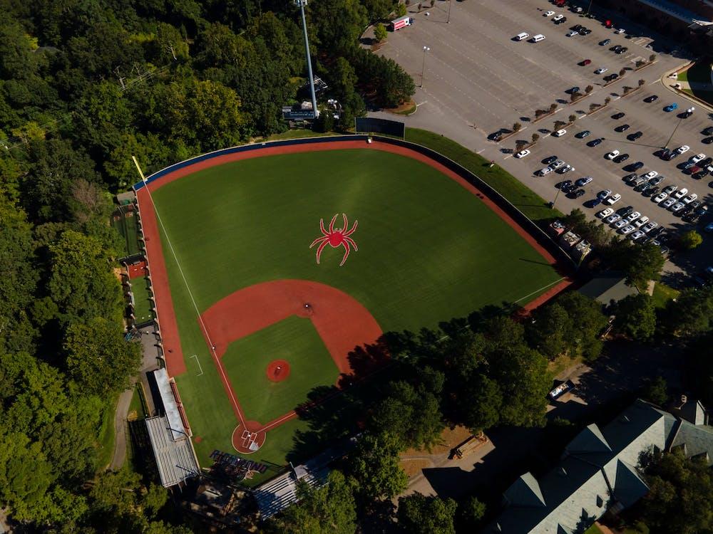 <p>Pitt Field, the home of Richmond Spiders baseball</p>