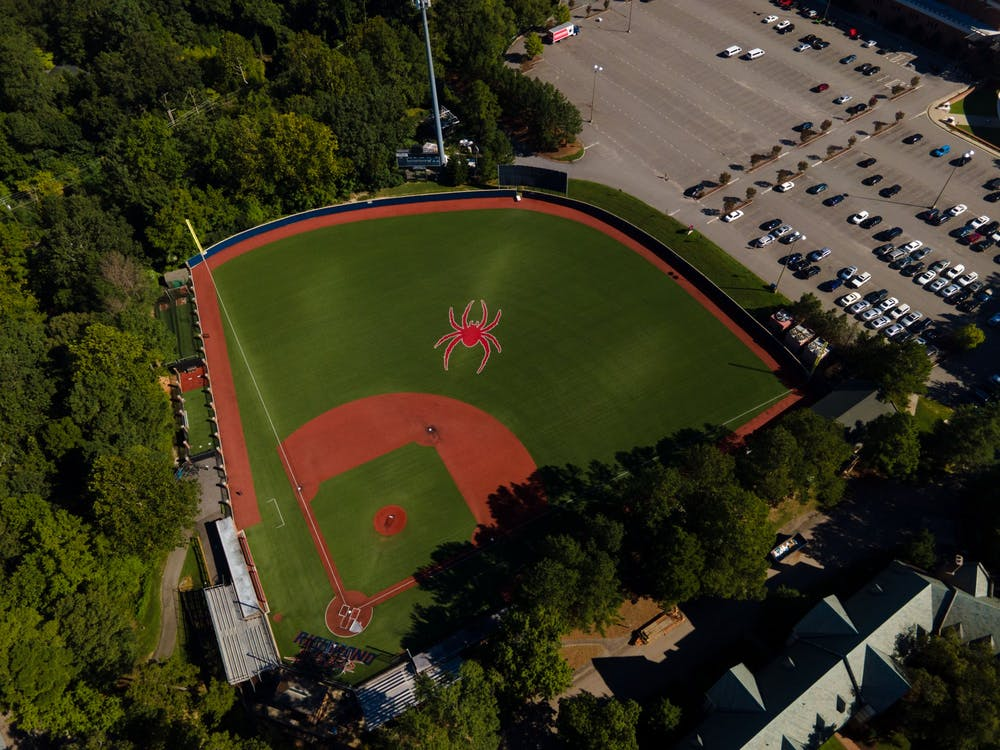 Pitt Field, the home of Richmond Spiders baseball