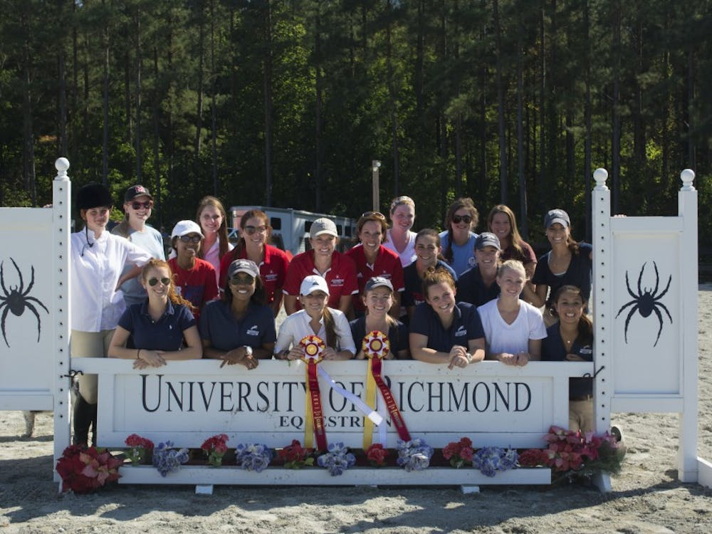 Richmond second place overall at an equestrian competition at Haverhill Farm.