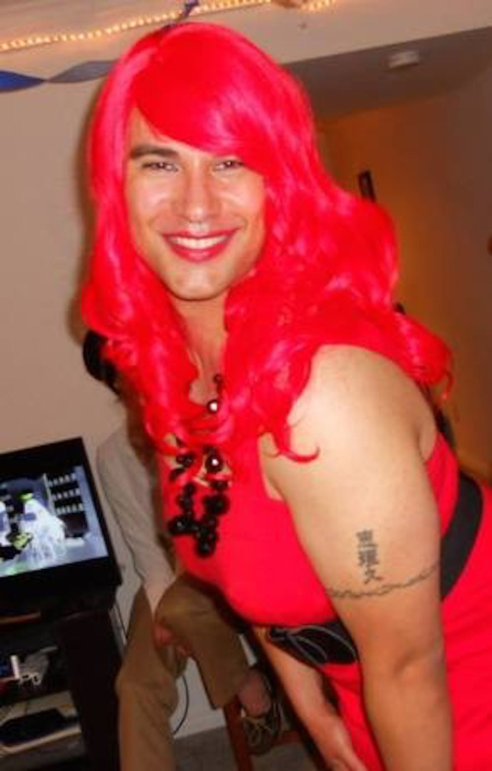 <p>Denise &mdash; Grollman's drag alter ego | Courtesy of&nbsp;Eric Anthony Grollman</p>