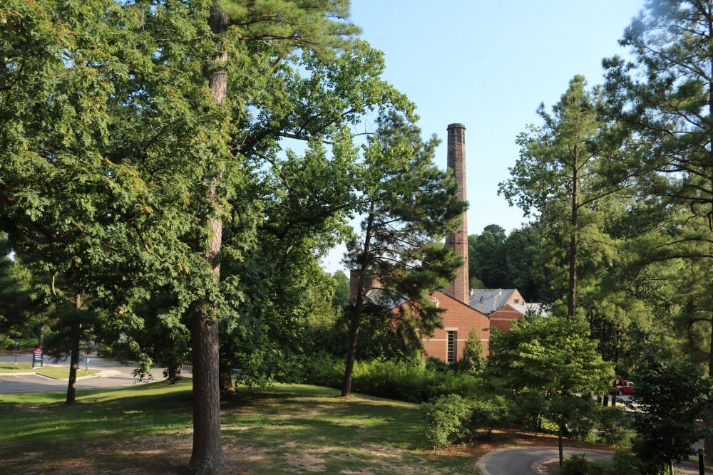 <p>The supposed burial site of enslaved people is believed to be located behind Puryear Hall, near the steam plant and parking lot U8.</p>