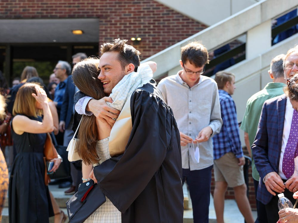 A year and a half after an abrupt departure from the University of Richmond, the class of 2020 finally returned to celebrate its commencement ceremony on the morning of Sept. 19 in the Robins Center.