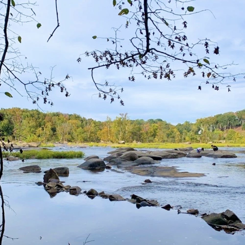<p>Pony Pasture Rapids, shown above, is a short drive from campus.</p>