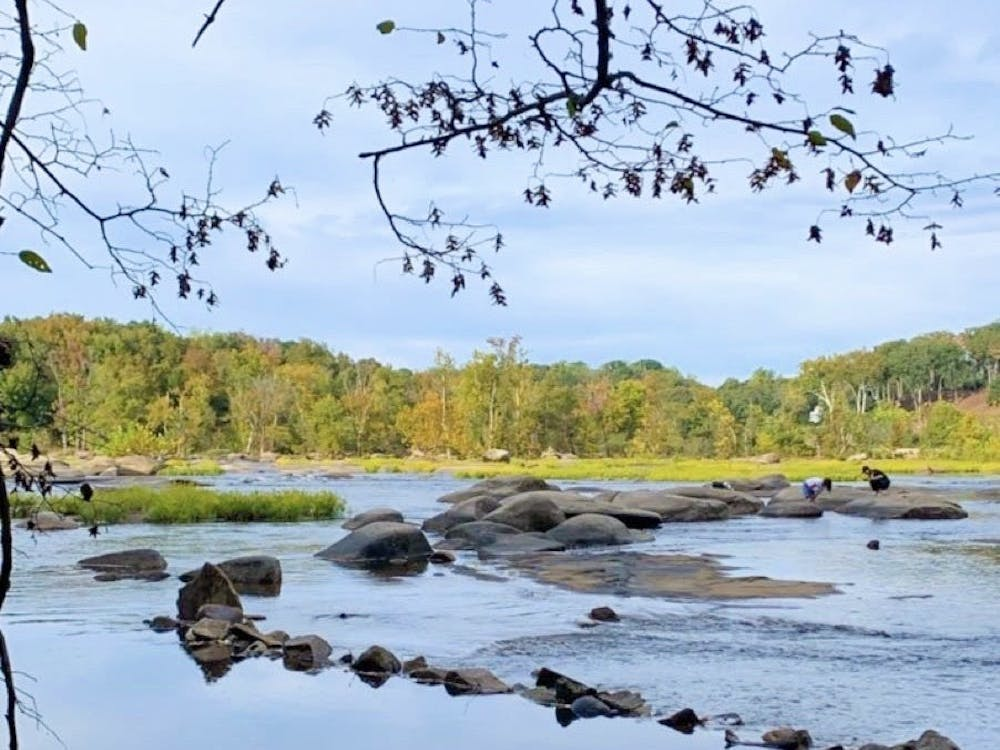 Pony Pasture Rapids, shown above, is a short drive from campus.