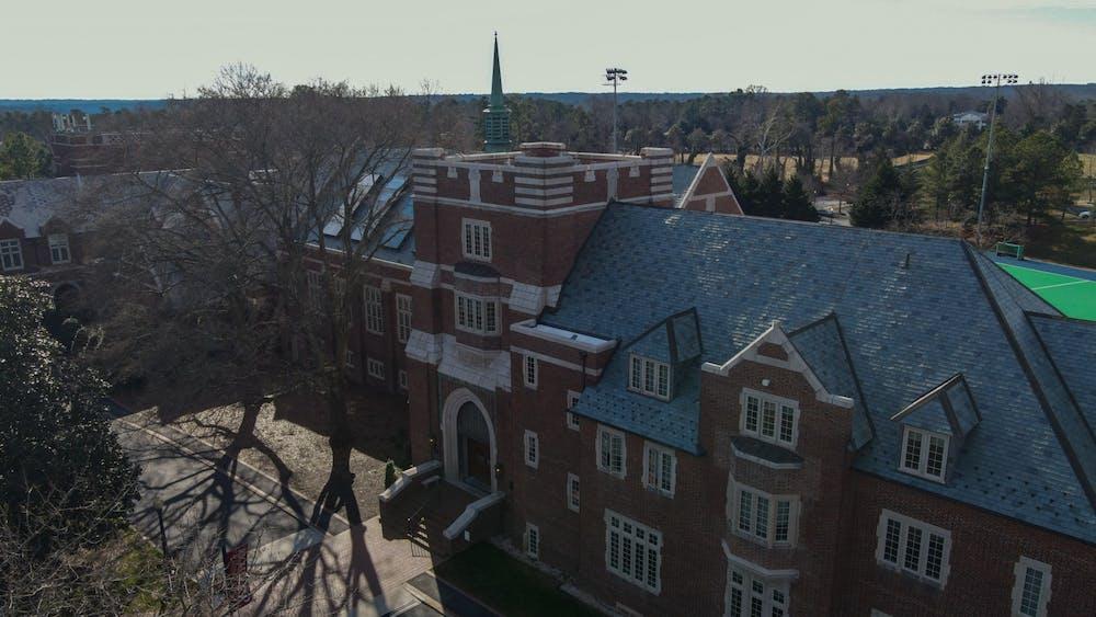 Keller Hall houses many quarantined students.