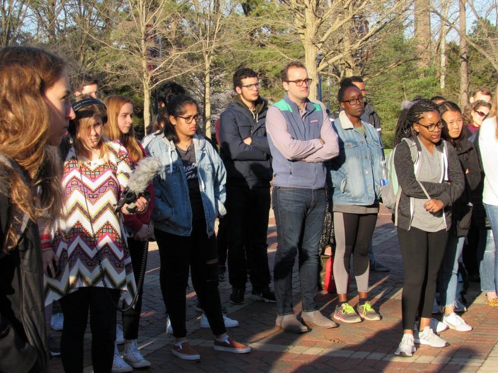 Members of the University of Richmond community gathered in the Forum on March 26 to honor the 50 victims of the Christchurch massacre that occurred in New Zealand on March 15.