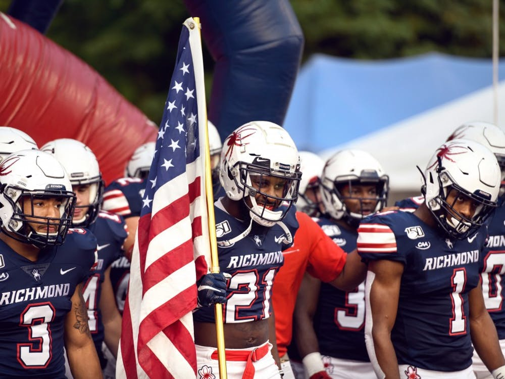 The Richmond Spiders football team lost to Elon 42-20 at Robins Stadium on Saturday, September 14, 2019.