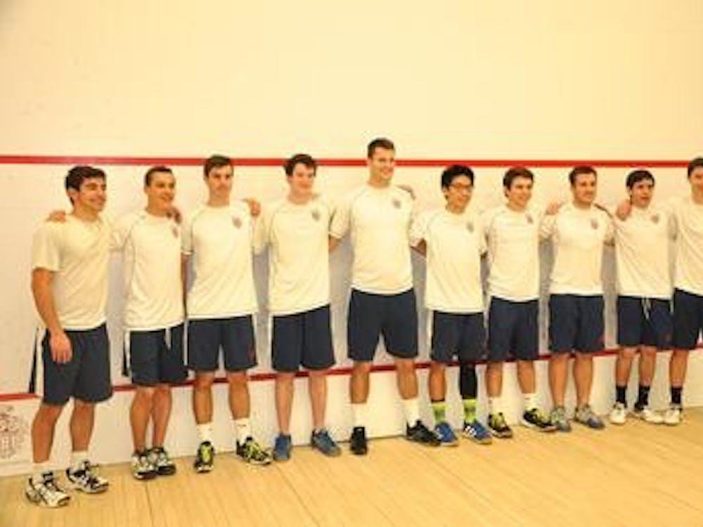 Richmond men's club squash team has grown considerably in recent years, senior Jon Patteson said.