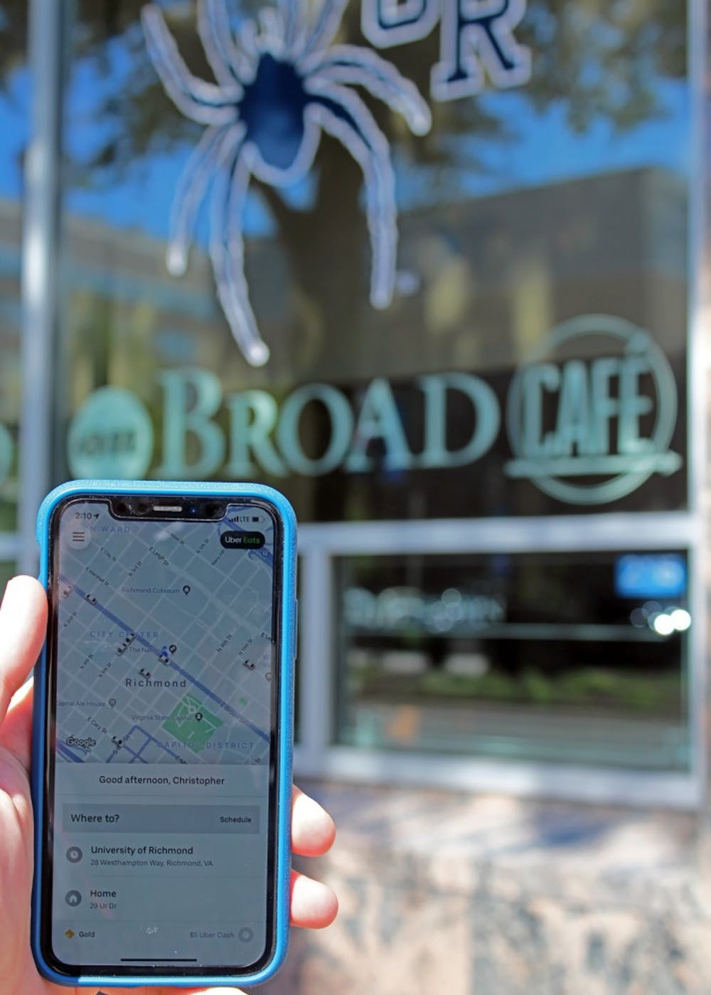 <p>The University of Richmond Downtown on East Broad Street is now accessible to students via Uber.</p>