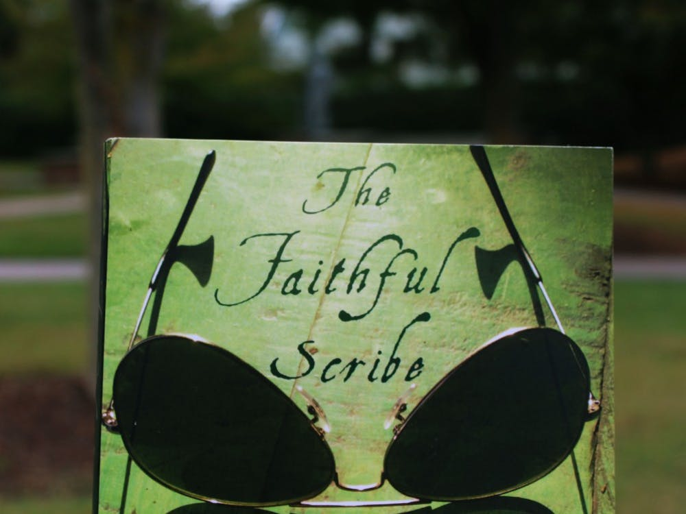 """The Faithful Scribe"" by Shahan Mufti, this year's One Book, One Richmond selection, is pictured above."